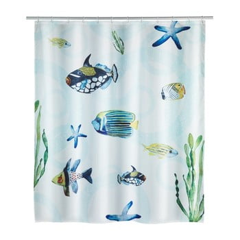 Perdea duș Wenko Aquaria, 180 x 200 cm bonami.ro
