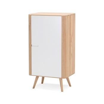 Dulap din lemn de stejar Gazzda Ena, 60 x 110 cm imagine