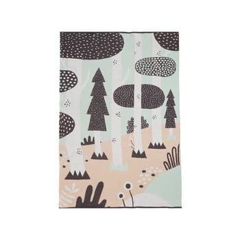 Cuvertură din bumbac pentru copii Södahl Magic Forest,100x150cm bonami.ro