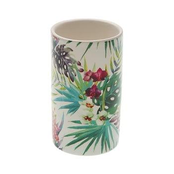 Suport din ceramică pentru periuța de dinți Versa Flower, ø 6,5 cm bonami.ro
