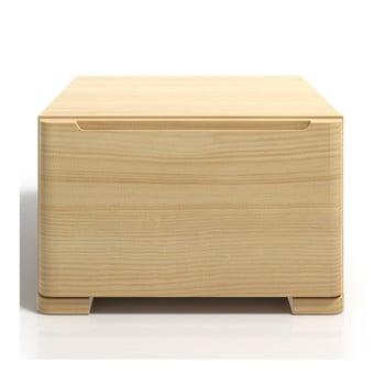 Noptieră din lemn de pin cu sertar SKANDICA Sparta bonami.ro