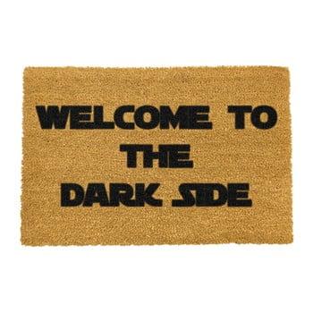 Covoraș intrare din fibre de cocos Artsy Doormats Welcome to the Darkside, 40 x 60 cm poza bonami.ro