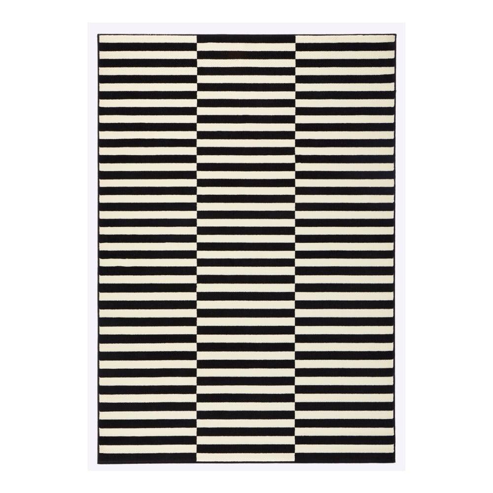 Covor Hanse Home Gloria Panel, 80x150cm, alb negru