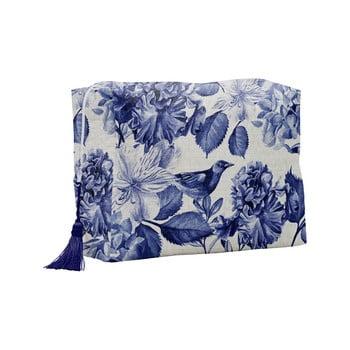Geantă cosmetică Linen Couture Blue Birds poza bonami.ro