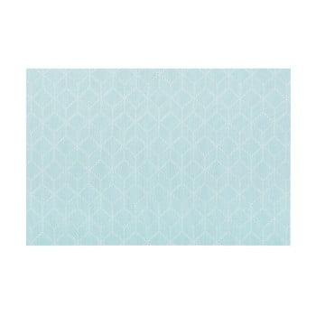 Șervet decorativ Tiseco Home Studio Cubes, 45 x 30 cm, albastru poza bonami.ro