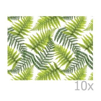 Set 10 suporturi farfurie din hârtie de unică folosință Esschert Design Picnic bonami.ro