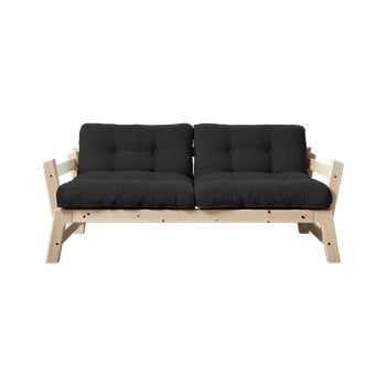 Canapea variabilă Karup Design Step Natural/Dark Grey bonami.ro