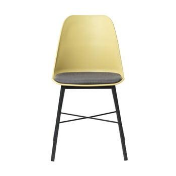 Scaun Unique Furniture Whistler, galben-gri poza bonami.ro