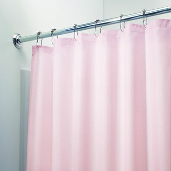 Perdea pentru duș iDesign, 183x183cm, roz poza bonami.ro