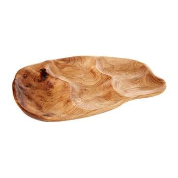 Platou pentru servit din lemn de cedru Premier Houseware Kora, 25 x 36 cm bonami.ro