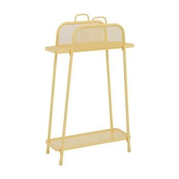 Etajeră de balcon metalică ADDU MWH, înălțime 105,5 cm, galben poza bonami.ro