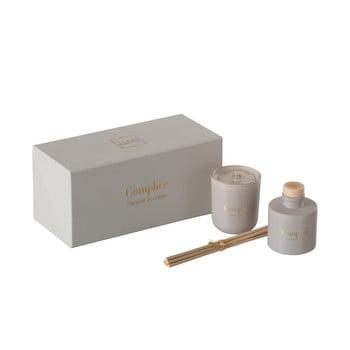 Set lumânare și difuzor parfumat J-Line Scent poza bonami.ro