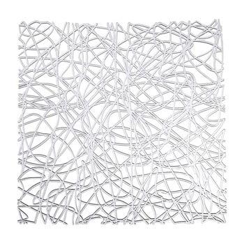 Suport transparent pentru chiuvetă Wenko Sink Mat Cross, 30,5 x 30,5 cm bonami.ro