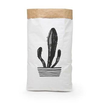 Coş depozitare din hârtie reciclată Surdic Candelabra Cactus poza bonami.ro