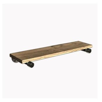 Raft de perete din lemn Raffik Pipe bonami.ro