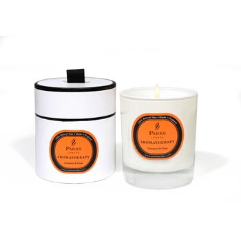 Lumânare parfumată Parks Candles London Aromatherapy, aromă de scorțișoară și cuișoare, durată ardere 45 ore bonami.ro
