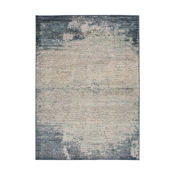 Covor Universal Farashe Abstract, 120 x 170 cm, gri-albastru imagine