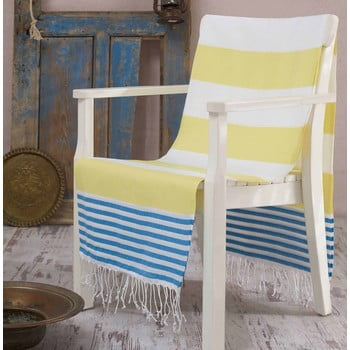Prosop hammam Antalya Yellow, 100x180 cm poza bonami.ro