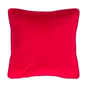 Pernă Tiseco Home Studio Velvety, 45x45cm, roșu bonami.ro