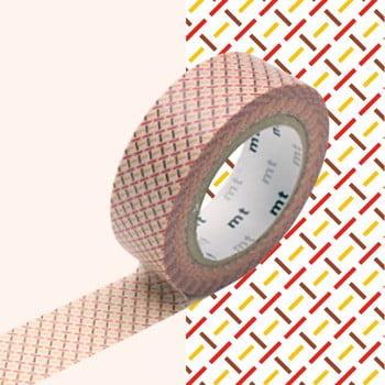 Bandă decorativă Washi MT Masking Tape Aimee, rolă 10 m bonami.ro