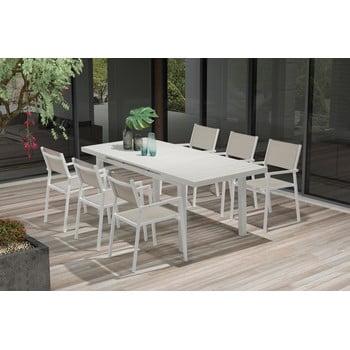 Set masă extensibilă și 8 scaune pentru grădină Ezeis Carioca imagine