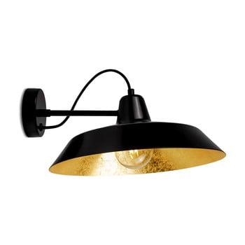 Aplică Bulb Attack Cinco Basic, negru - auriu bonami.ro