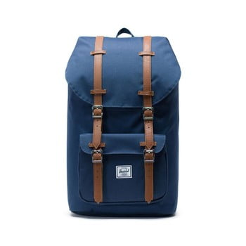 Rucsac Herschel Little America, albastru-maro, 25 l imagine