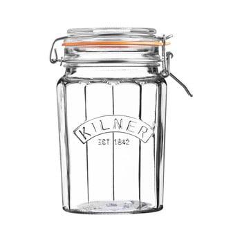 Borcan din sticlă cu clips Kilner, 0,95 L poza bonami.ro