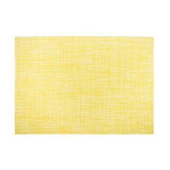 Suport pentru farfurie Tiseco Home Studio Melange Simple, 30x45cm, galben bonami.ro