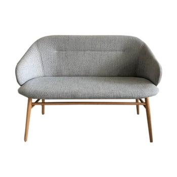 Canapea Unique Furniture Teno, lățime 121 cm, gri bonami.ro