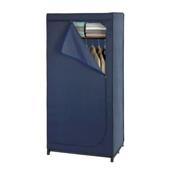 Șifonier depozitare Wenko Business, înălțime 160 cm, albastru poza bonami.ro