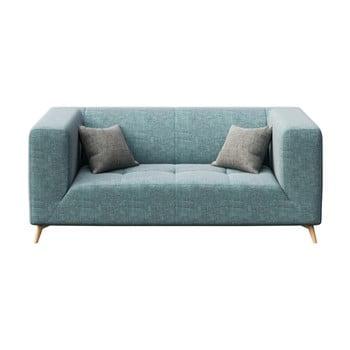 Canapea cu 2 locuri MESONICA Toro, albastru deschis imagine
