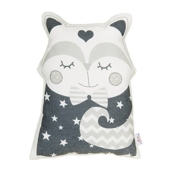 Pernă decorativă Mike & Co. NEW YORK Pillow Toy Smart Cat, 23 x 33 cm, gri bonami.ro