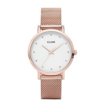 Ceas damă Cluse Pavane, roz-auriu imagine