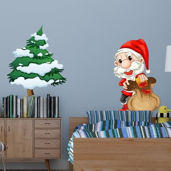 Autocolante Crăciun Fantastick Pere Noel bonami.ro