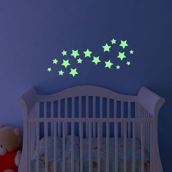 Autocolant fosforescent Fanastick Simple Stars bonami.ro