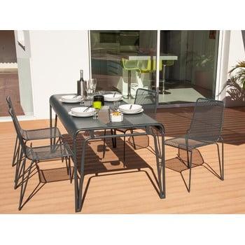 Set 4 scaune de grădină cu masă Ezeis Ambroise imagine