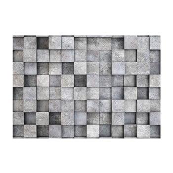 Tapet format mare Bimago Consrete Cube, 400 x 280 cm bonami.ro
