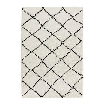 Covor Mint Rugs Hash, 160x230cm, bej - negru imagine