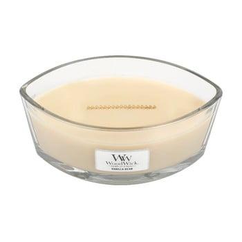 Lumânare parfumată WoodWick, cu aromă de vanilie, 30 ore bonami.ro