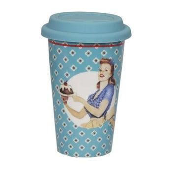 Cană din ceramică voiaj Antic Line Retro Bleu, albastru poza bonami.ro