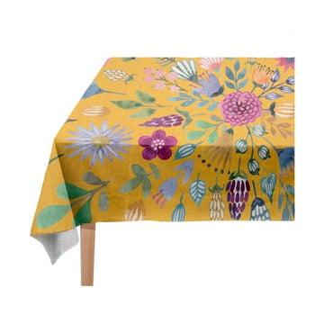 Față de masă Madre Selva Colourful Flowers, 140 x 140 cm bonami.ro