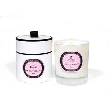 Lumânare parfumată Parks Candles London Aromatherapy, aromă de trandafiri, durată ardere 45 ore bonami.ro