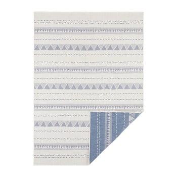 Covor adecvat pentru exterior Bougari Bahamas, 200 x 290 cm, albastru-crem imagine
