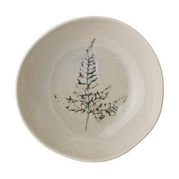 Farfurie adâncă din gresie ceramică Bloomingville Bea bonami.ro