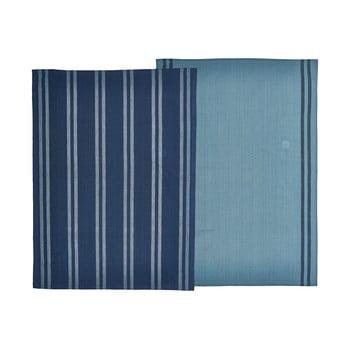 Set 2 prosoape din bumbac Södahl, albastru, 50x70cm poza bonami.ro
