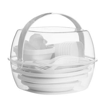 Set pentru picnic Premier Housewares Clear White, 51 piese poza bonami.ro