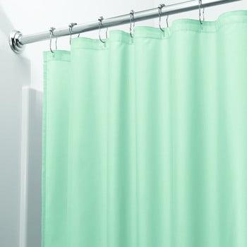 Perdea pentru duș iDesign, 200x180cm, verde poza bonami.ro