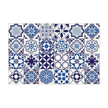 Set 24 autocolante pentru perete Ambiance Decals Tiles Eusebio, 10 x 10 cm poza bonami.ro