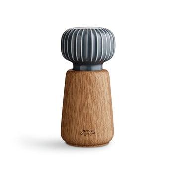 Râșniță din lemn pentru sare/piper Kähler Design Hammershoi, antracit, înălțime 13 cm poza bonami.ro